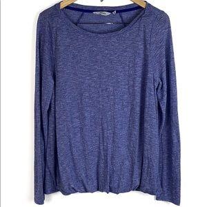 Athleta Blue Long Sleeve Shirt
